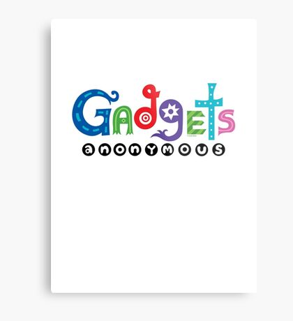 Gadgets Anonymous  Metal Print