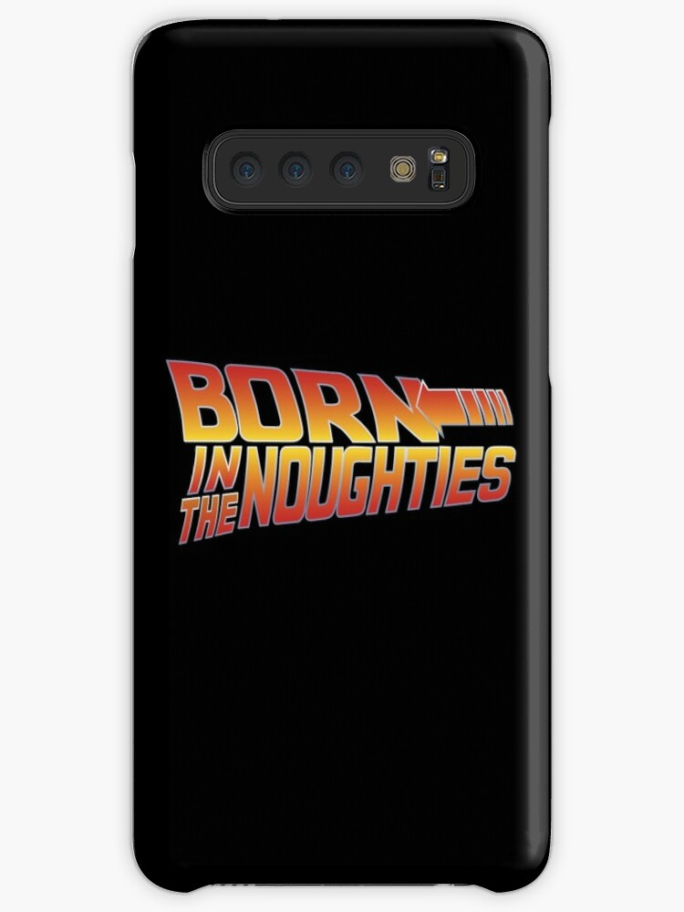 'Born in the Noughties 00s - Back to the Future' Case/Skin for Samsung  Galaxy by inkstyl