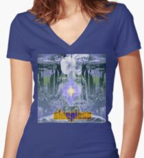 Sleepless Women's Fitted V-Neck T-Shirt
