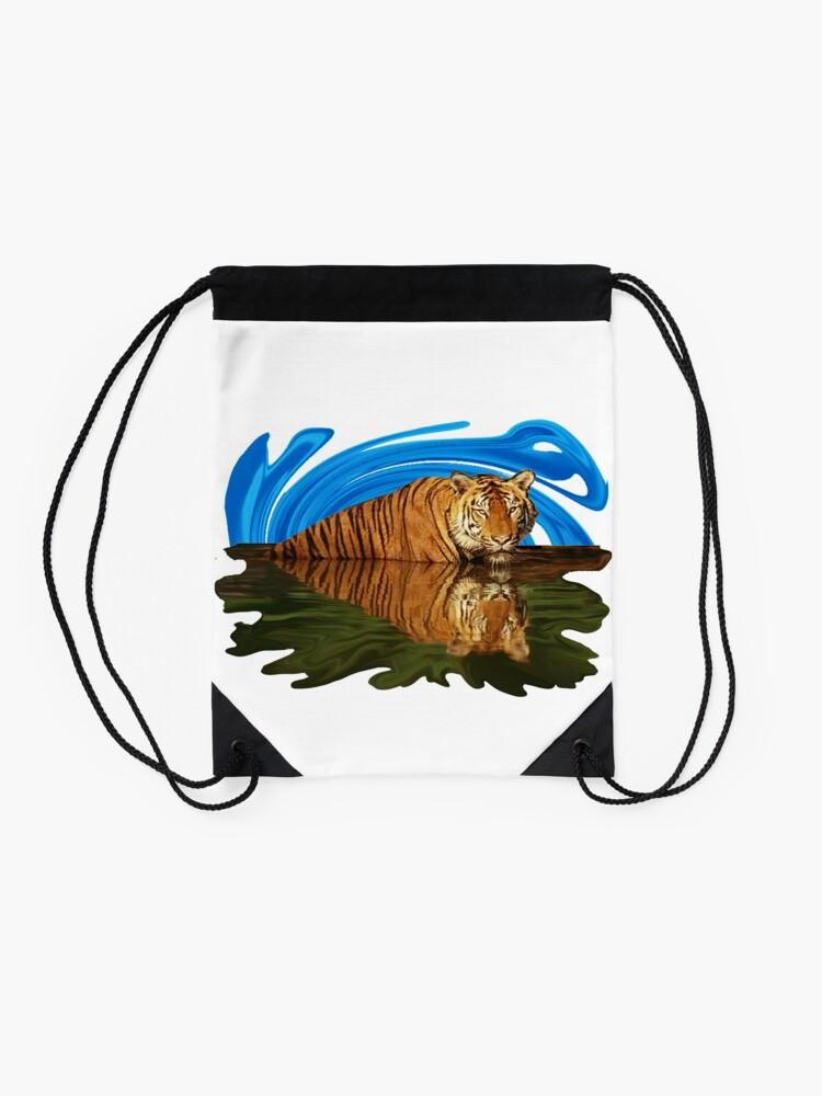 Alternate view of The Mirage Drawstring Bag