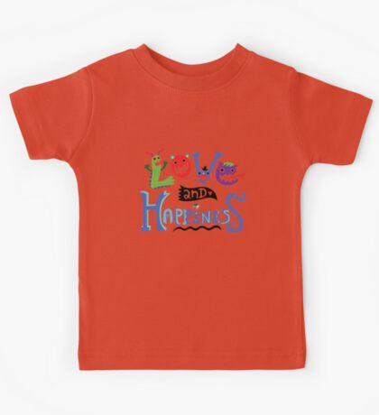 Love and Happiness  Kids Clothes