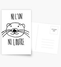neither one nor the otter! Postcards