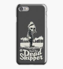 Beach Bar Dead skipper iPhone Case/Skin