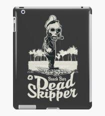 Beach Bar Dead skipper iPad Case/Skin