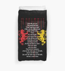 Rains of Castamere Duvet Cover