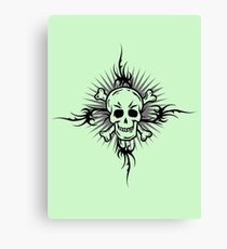 Skull & Tattoo    Canvas Print