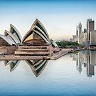 Opera House Harbour Reflection by JohnKarmouche