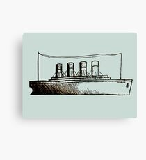 Ghost Liner Canvas Print