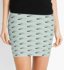 Ghost Liner Mini Skirt