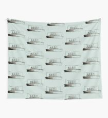 Ghost Liner Wall Tapestry