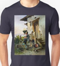 Anton Altmann Rest and Refreshment at the Fountain Unisex T-Shirt