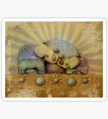 elephant blessing Sticker