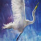 The Egret by Seth  Weaver