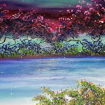 mystic lake by JoseJuarez