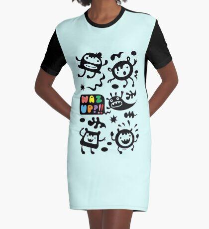 Waz Up   Graphic T-Shirt Dress
