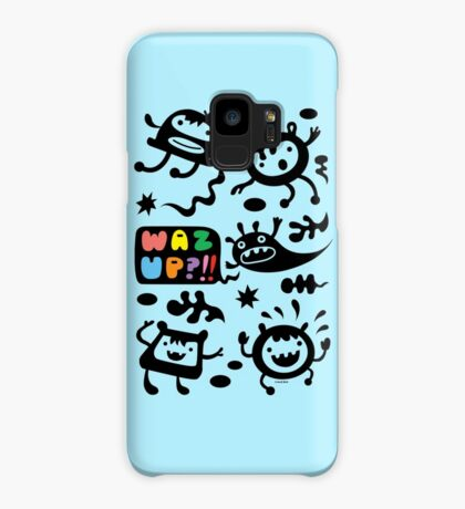 Waz Up   Case/Skin for Samsung Galaxy