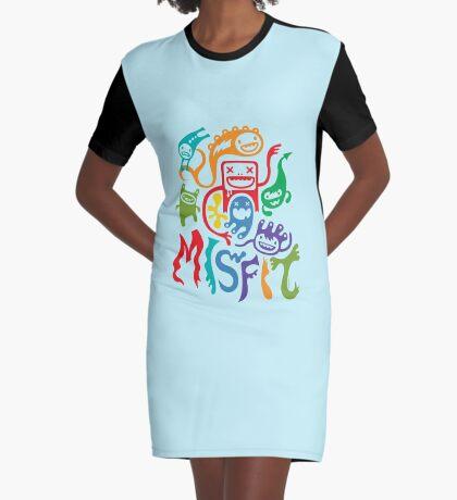 Misfits  Graphic T-Shirt Dress