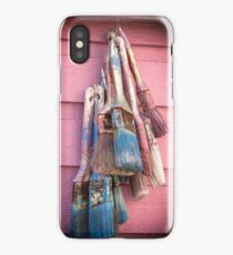 Vibrant Paintbrushes  iPhone Case