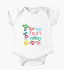 Eat Your Fruit & Veggies  One Piece - Short Sleeve