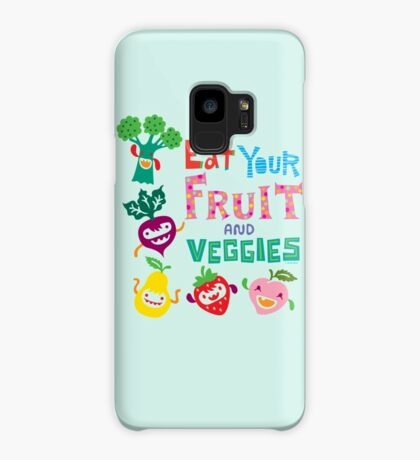 Eat Your Fruit & Veggies  Case/Skin for Samsung Galaxy