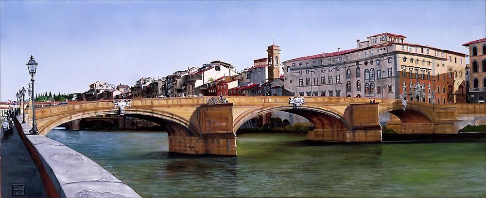 Santa Trinita Bridge by Matthew  Bates