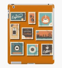 Vintage Coffee Stamp Collection iPad Case/Skin