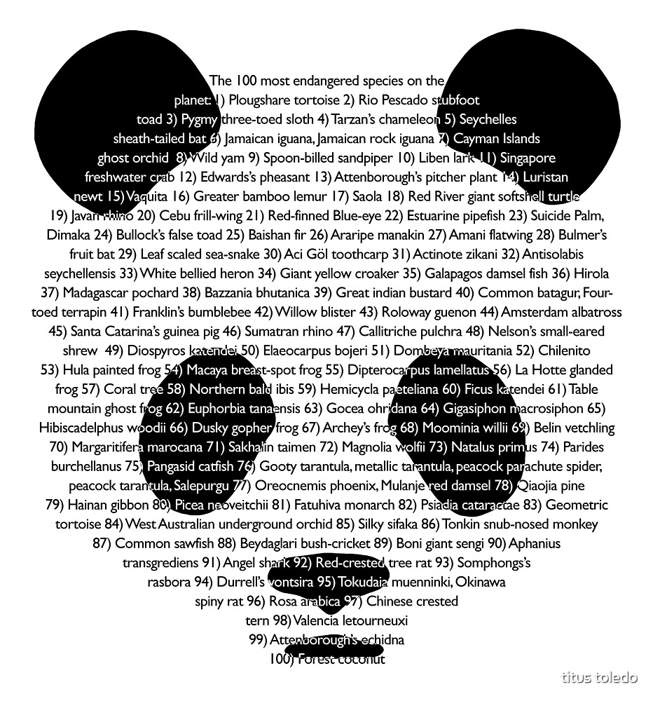 101st panda by titus toledo