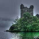 Urquhart Castle......Yes, there is a Monster.....!!! by Roy  Massicks