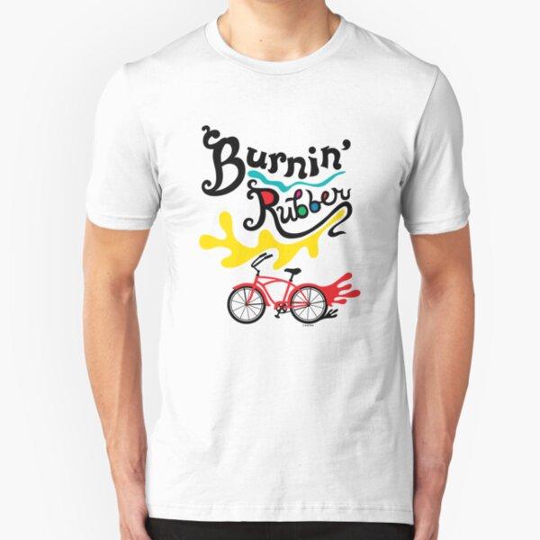 Burnin' Rubber  Slim Fit T-Shirt