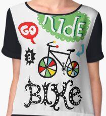 Go Ride a Bike   Chiffon Top