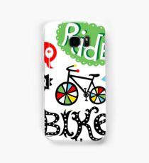 Go Ride a Bike   Samsung Galaxy Case/Skin