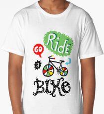 Go Ride a Bike   Long T-Shirt