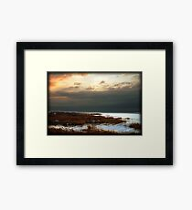 Utah Lake, Near Genola Framed Print