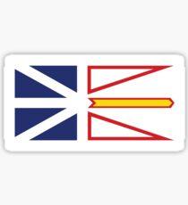 Flag of Newfoundland and Labrador Sticker