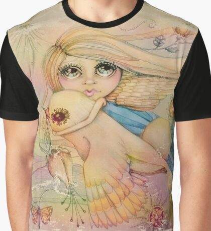 rainbow angel Graphic T-Shirt