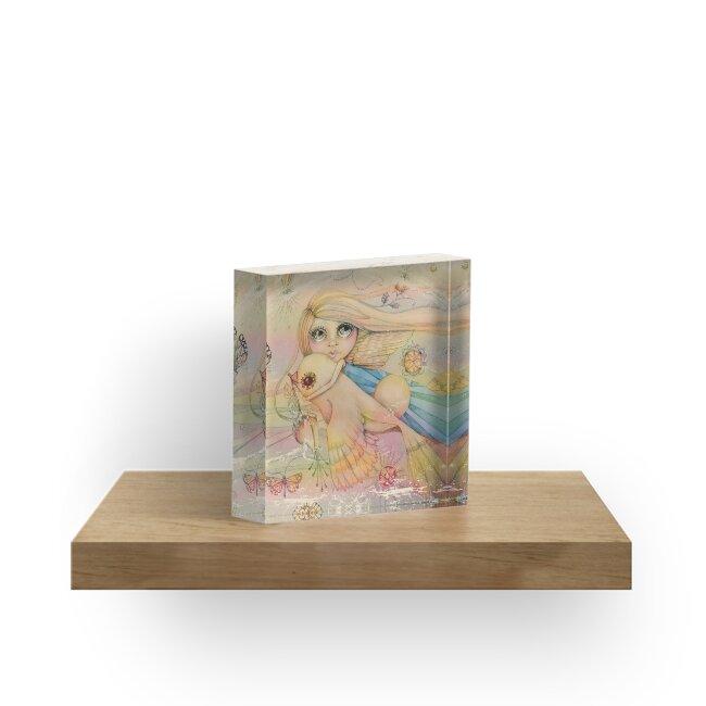 rainbow angel by Karin Taylor