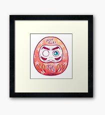 Daruma! Framed Print