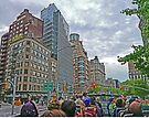 Touring on the streets of New York by Graeme  Hyde