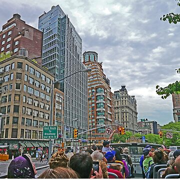 Touring on the streets of New York by grmahyde