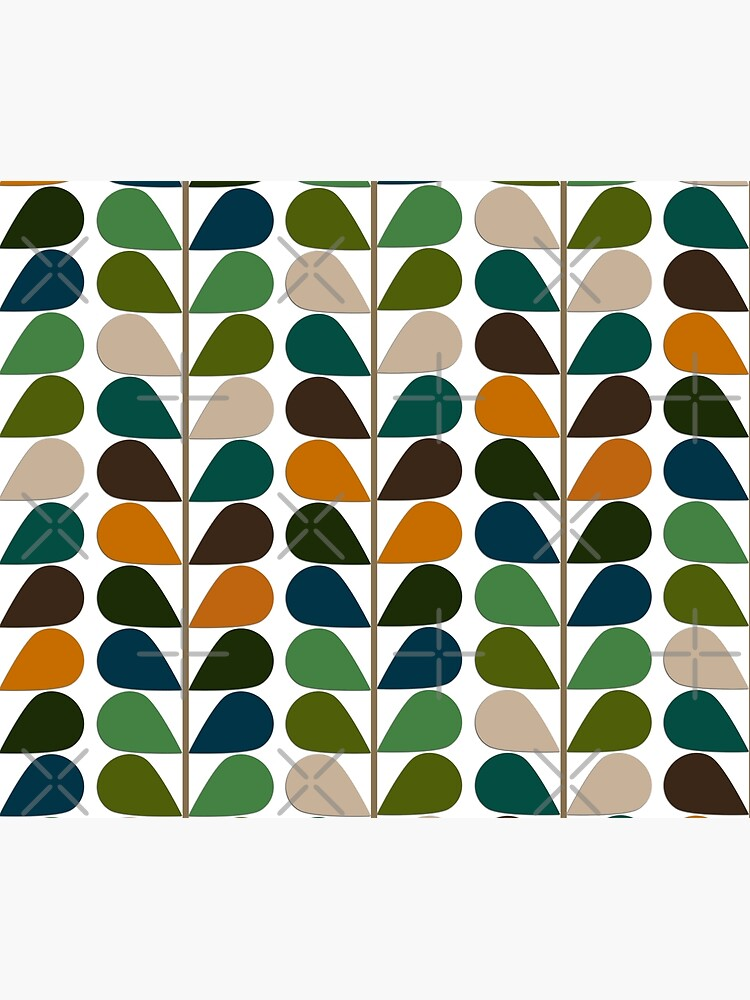 Retro 60s Mid Century Modern Pattern 2 by Makanahele