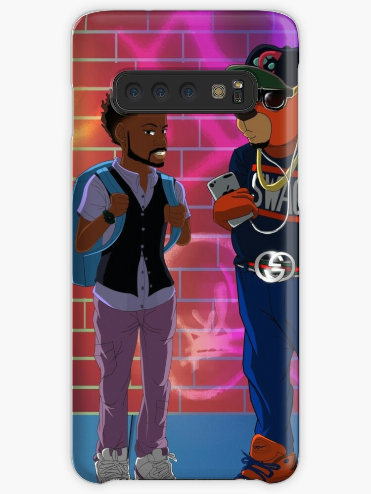 13e8871e 'C Bear and Jamal All Grown Up ' Case/Skin for Samsung Galaxy by Romaris  Rogers