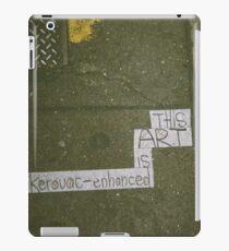 Kerouac Enhanced iPad Case/Skin