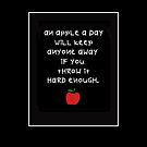 AN APPLE A DAY by Shirley Kathan-Sayess