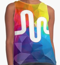 musical ly colorful Contrast Tank