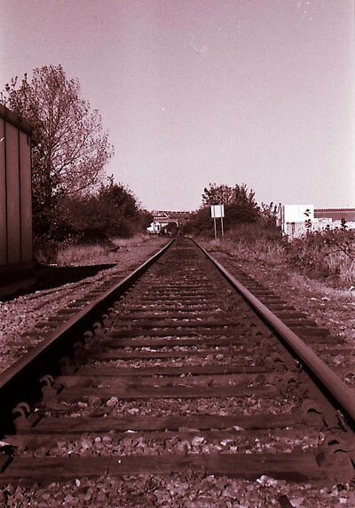 Old Rails by James Knights