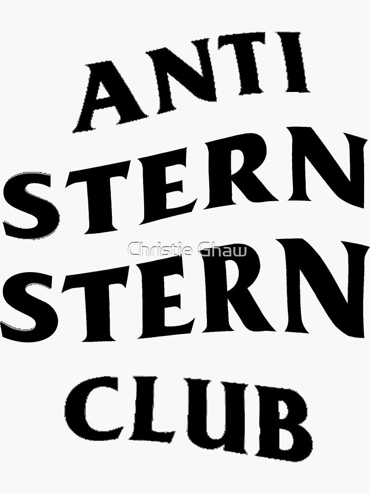 Anti Stern Stern Club BLK (PEGATINAS DISPONIBLES) de christiegh