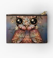 little rainbow flower owl Studio Pouch