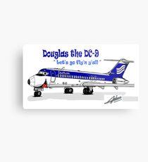 Southern DC-9 Metal Print