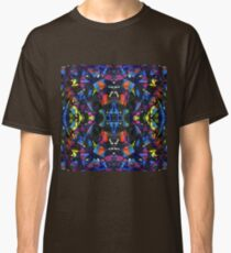 Psychedelic Paint Pattern Classic T-Shirt