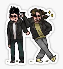 iconic duo Sticker